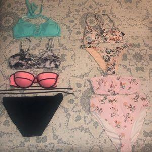 S/M Swimsuits (PINK, Hollister, LA Hearts)